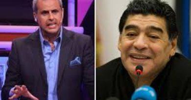 El furioso mensaje de Whatsapp que Diego Maradona le mandó a Jorge Rial