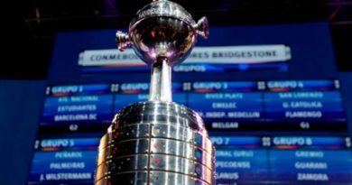 Quedaron definidos los duelos y las llaves de la fase final de la Copa Libertadores
