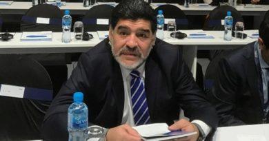 Escándalo en Rusia: acusaron a Maradona de acoso sexual