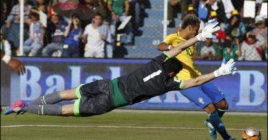 Brasil igualó sin goles ante Bolivia en la altura de La Paz