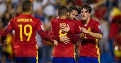 España es la décimo primera selección clasificada a Rusia 2018