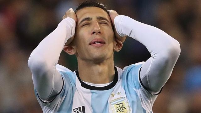 """Unai Emery, el entrenador del PSG que confesó que """"Di María está triste"""""""