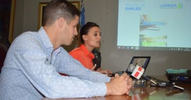 La Municipalidad de Laprida presento el portal de Empleo