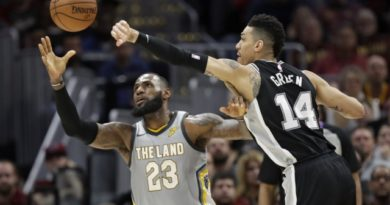 Sin Manu Ginóbili, los Spurs ganaron de visitante