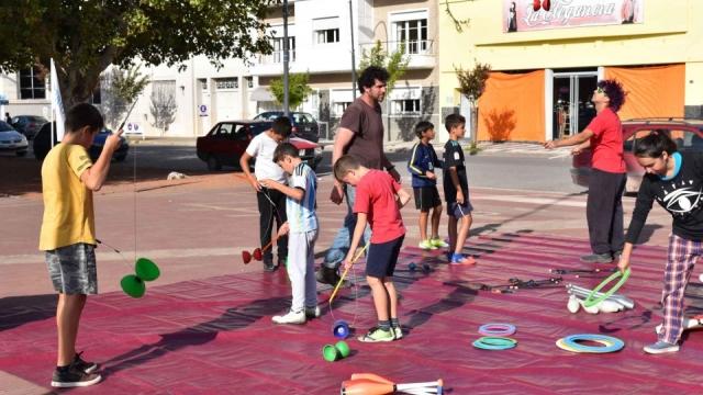8º festival de circo callejero en Laprida