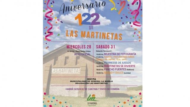 Las Martinetas conmemora un nuevo aniversario