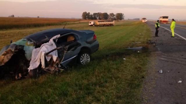 Otro accidente fatal en la Ruta Nacional 3