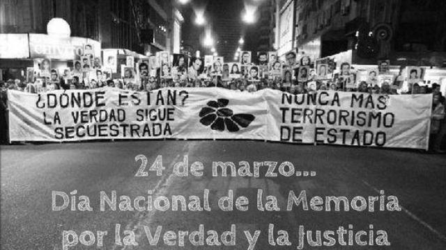Se realizan actividades por el Día de la Memoria, por la Verdad y la Justicia en La Madrid