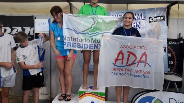 El espacio municipal de natación compitió en Tres Arroyos