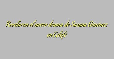 Revelaron el nuevo drama de Susana Giménez en Telefé