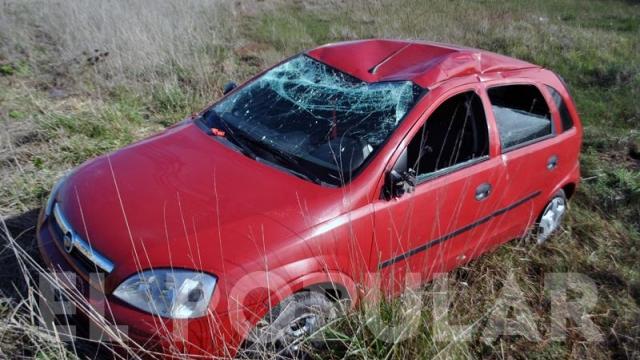 Cuatro mujeres resultaron ilesas tras un vuelco en la ruta 51
