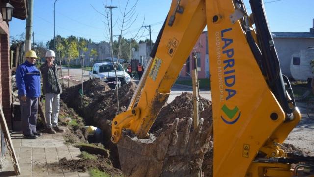 El Gobierno Municipal amplia la extensión de la red de agua corriente
