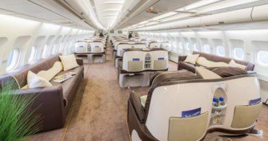 El lujoso avión en el que viajará la Selección a Rusia 2018