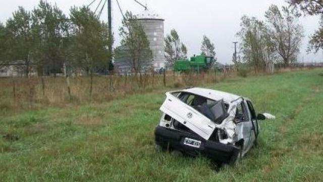Olavarría: se encuentra estable el joven que se accidentó en la Ruta 226