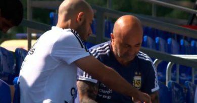 La respuesta de Mascherano sobre la foto de la práctica argentina