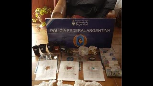 Azul: Policía Federal desarticuló una importante banda narco