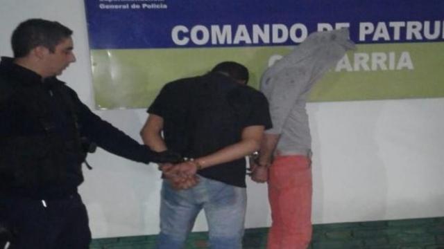 Olavarría: asaltaron a un remisero, irrumpieron en un domicilio y terminaron detenidos