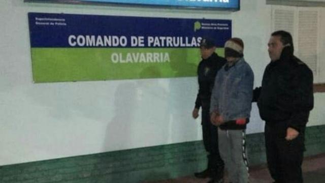 Olavarría: detienen a un sujeto con pedido de captura activa