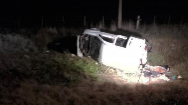 Fatal accidente en la Ruta Nº 51: una mujer murió y dos hombres resultaron heridos