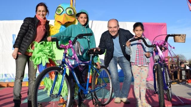 Multitudinario festejo del Día del Niño en el Parque del Bicentenario