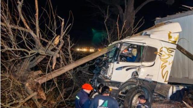 Ruta N° 3: dos accidentes en simultáneo