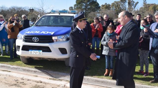 San Jorge recibió un nuevo móvil policial