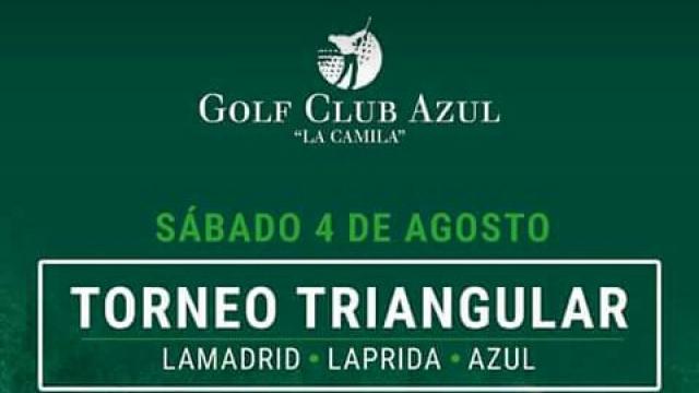 Se jugará un Torneo Triangular de Golf en Azul