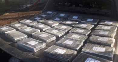 Tras una persecución, tres detenidos con cocaína y marihuana
