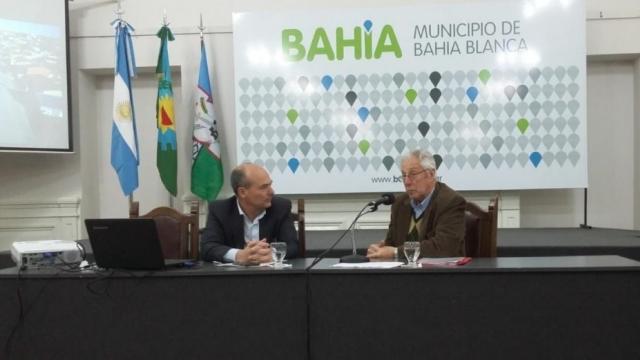 Fisher participó de una Jornada del Instituto Provincial de la Vivienda en Bahía Blanca