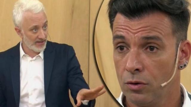 """El tenso momento entre Andy Kusnetzoff y Martín Bossi: """"Esto es una falta de respeto"""""""
