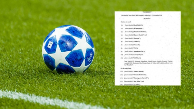 La otra filtración: los gigantes de Europa harán una Superliga europea