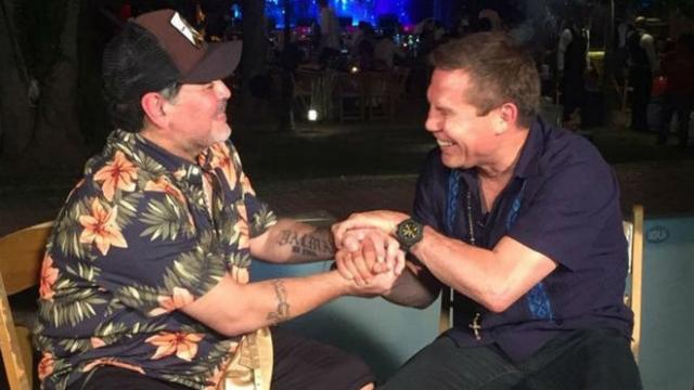 Maradona y Julio César Chávez hablaron del consumo de drogas y dejaron un mensaje