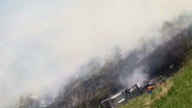 Salida de Bomberos por principio de incendio