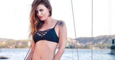 """El topless de Silvina Luna desde Nueva York: """"Mi cuerpo lo sabe"""""""