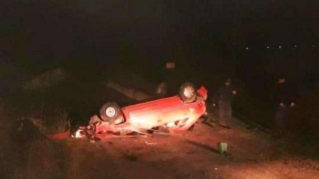 Ruta Nº 30: Un muerto y un herido tras el vuelco de un auto