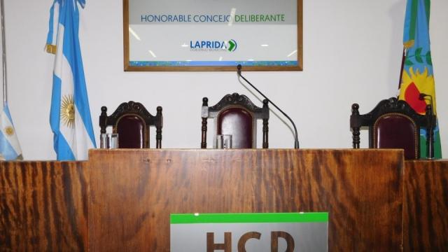 Laprida: Anuncian la inauguración del período de sesiones ordinarias en el Consejo Deliberante