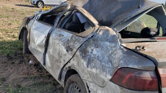 Ruta 3: Un hombre murió en un violento vuelco