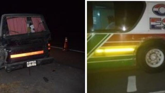 Ruta Provincial Nº 51: Casi ocasiona una tragedia al dormirse al volante