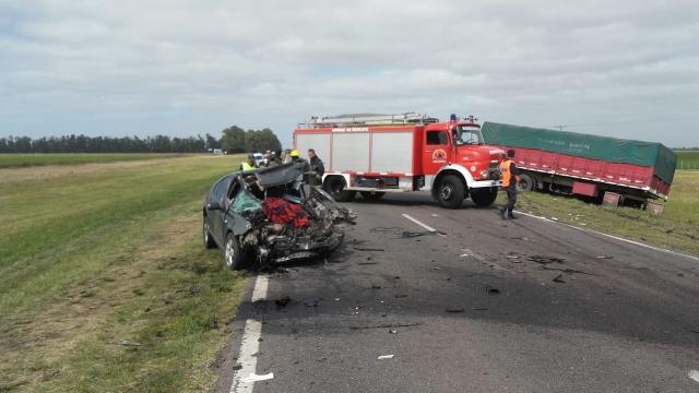 Un hombre falleció tras un accidente fatal en la Ruta Nacional Nº 3