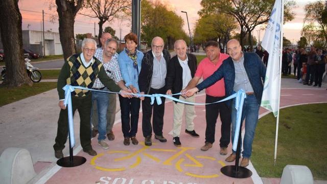 Alfredo Fisher llevó a cabo la inauguración y apertura del Acceso Sur