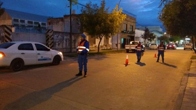 Operativos especiales y controles de tránsito en Laprida