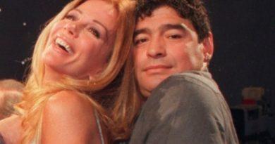 "Alfano reveló detalles de su ""romance"" con Maradona"