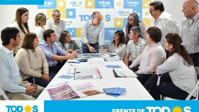 Comunicado: Alfredo Fisher senador y Pablo Torres como intendente