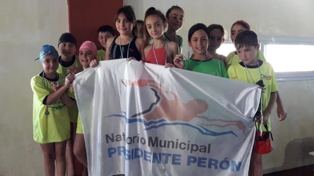 El espacio municipal de natación compitió en La Madrid
