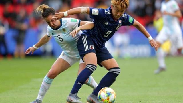 Histórico empate de Argentina ante Japón en el mundial femenino
