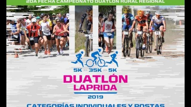 Este domingo Laprida será sede la segunda fecha del Duatlón Rural Regional