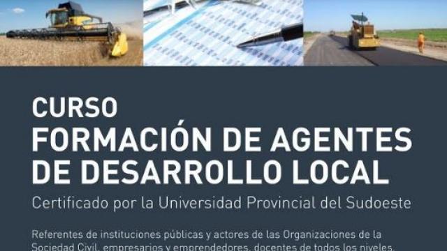 Curso gratuito de Agente de Desarrollo Local