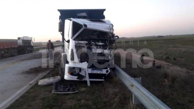 Enlace Kirchner: Camionero olavarriense protagonizó un accidente fatal