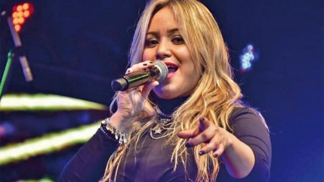 """Karina """"La Princesita"""" grabó un video anunciando su participación en el 130º Aniversario de Laprida"""